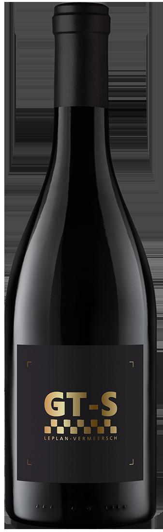 Bottle French wine red-GT-Syrah Leplan-Vermeersch
