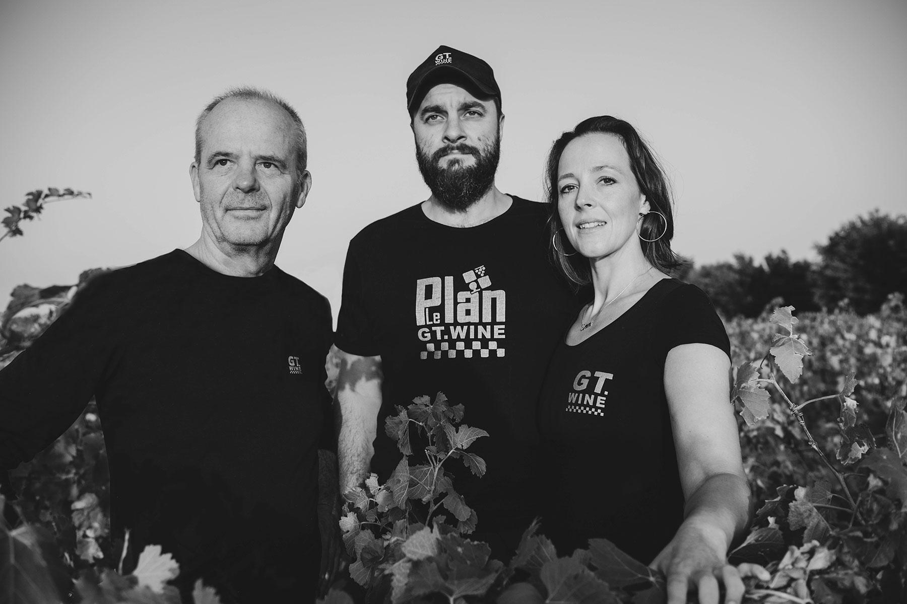 LePlan Vermeersch team vineyard