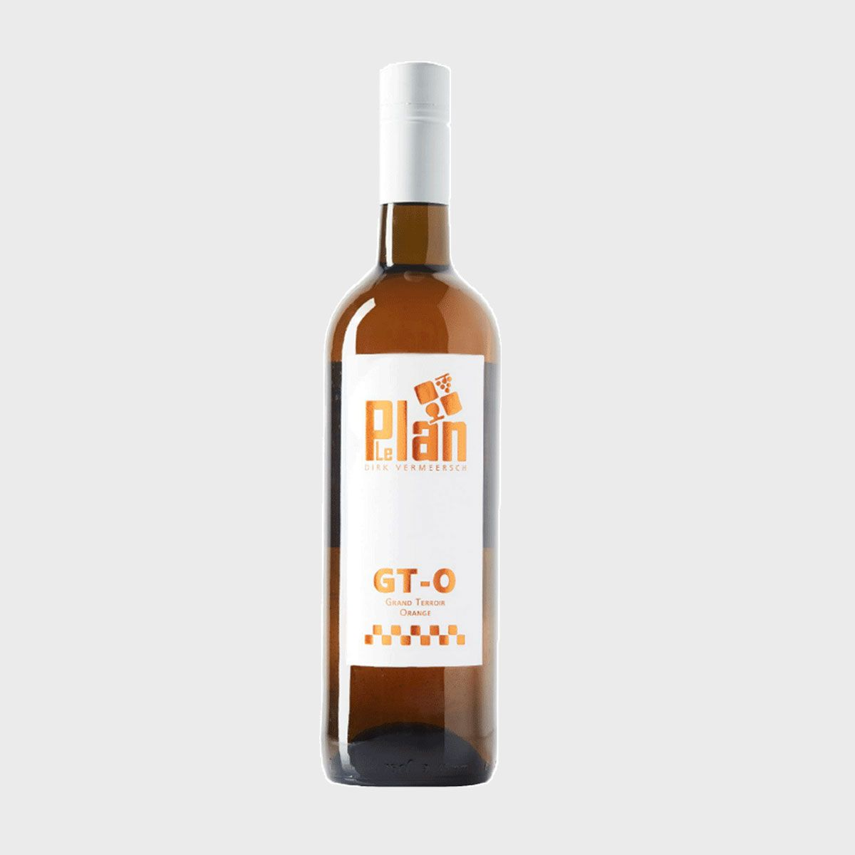 Bottle wine GT Orange Vin de France VDF