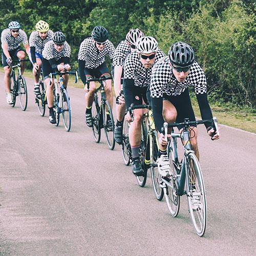 Sport Cycling team sponsored by LePlan-Vermeersch