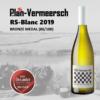 Bottle white wine RS-Blanc Cotes du Rhone AOP LePlan-Vermeersch