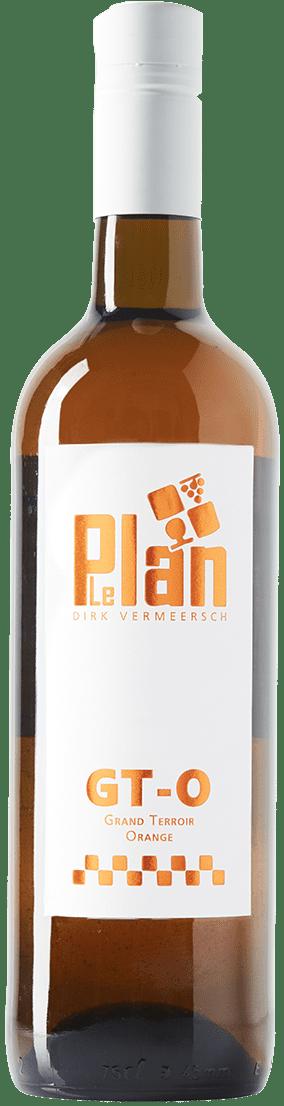Bottle wine GT-ORANGE Vin de France VDF LePlan-Vermeersch
