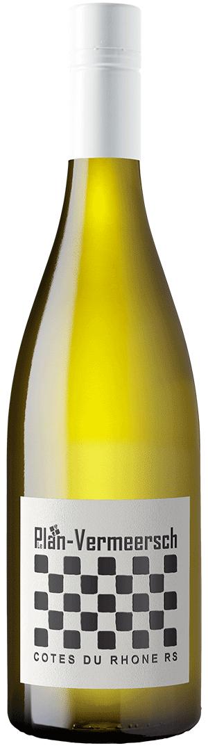 Bottle White wine RS-RHONE BLANC Cotes du Rhone AOP LePlan-Vermeersch