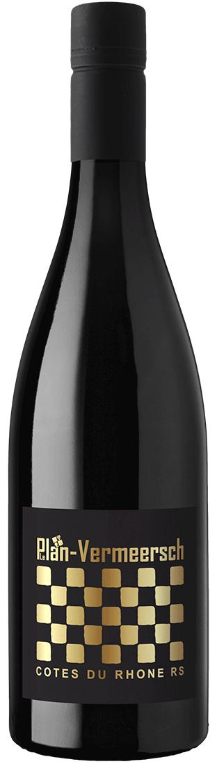 Bottle Red Wine RS-RHONE-ROUGE Cotes-du-Rhone AOP LePlan-Vermeersch