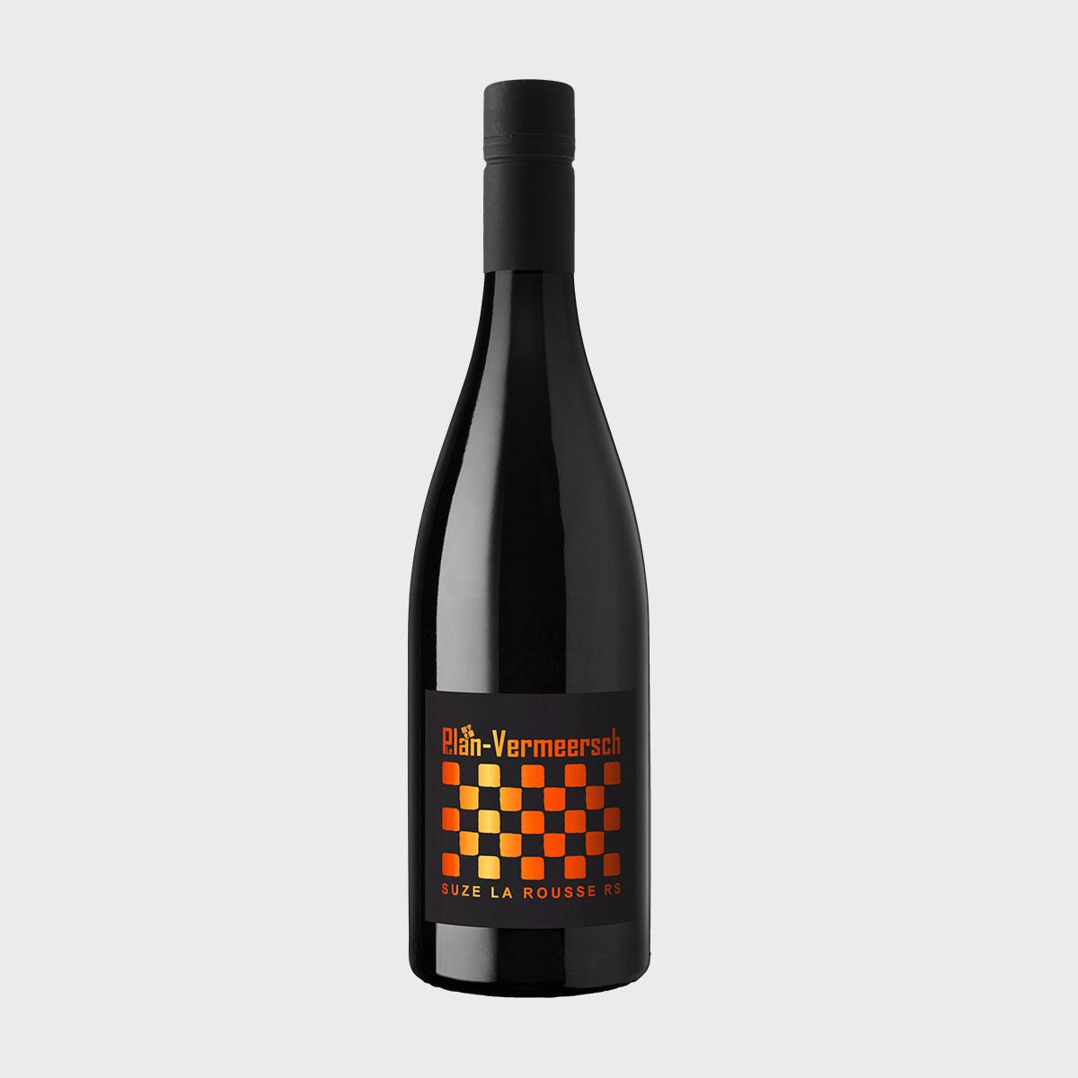 Bottle blend wine Syrah Mourvedre RS Suze LePlan-Vermeersch