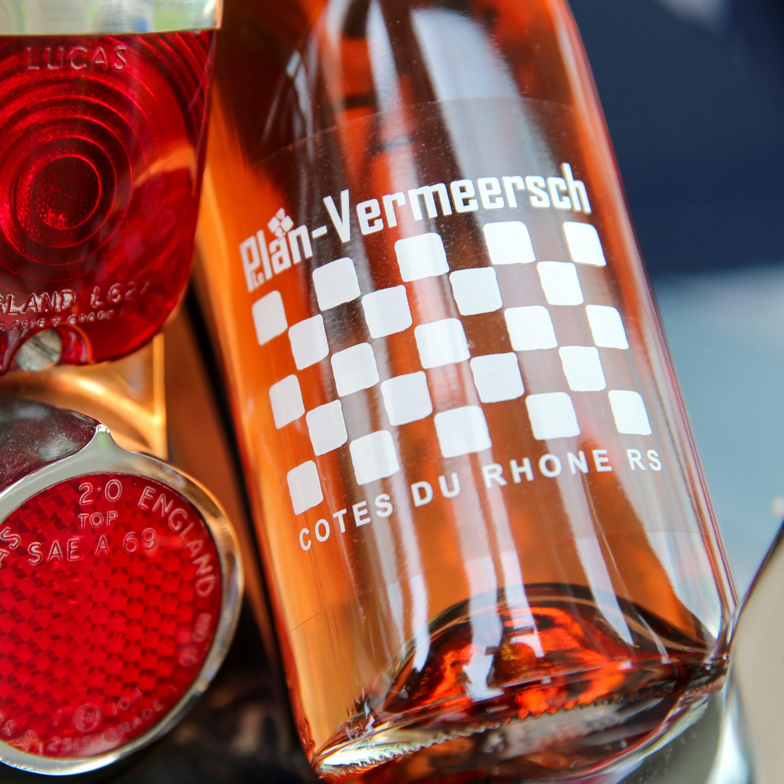 Bottle rose wine Cotes-du-Rhone AOP RS-rose-rhone Leplan-Vermeersch