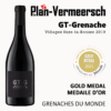 Bottle wine Grenache GT-Grenache gold medal Grenaches du monde LePlan-Vermeersch